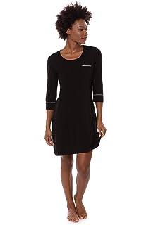 Women s Sleep Shirt 3 4 Sleeve - Classic Nightshirt for Her by Texere (Zizz 2d15069de