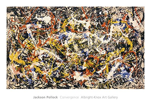 Convergence by Jackson Pollock Painting Print