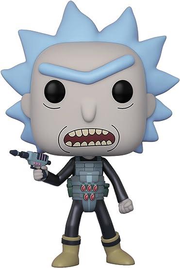 Funko 12439 Dorbz Morty Personaggio Rick Armato