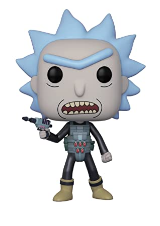RICK Y MORTY POP! ANIMATION VINYL FIGURA PRISON ESCAPE RICK 9 CM