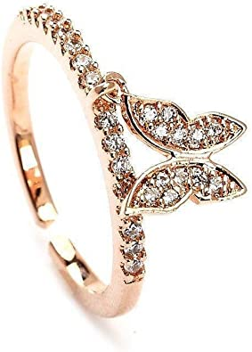 Blinglane Fly High Butterfly Toe Ring