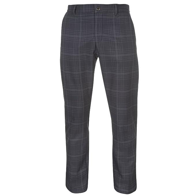 Slazenger Hombre Pantalones De Golf De Cuadros De Invierno 92cYr