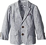 Appaman Kids Baby Boy's Structured Blazer with Pocket Detail (Toddler/Little Kids/Big Kids) Railroad Stripe 8