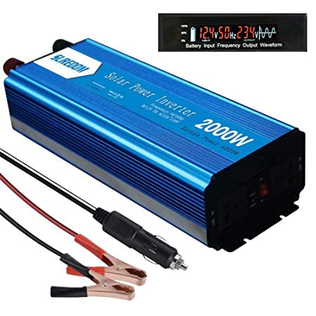 WDYu Lnversor de Corriente 12V/24V/48V a 110~120V Lnversor ...