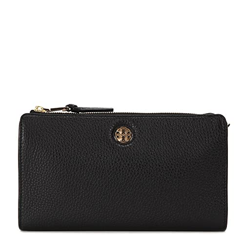 Tory Burch Robinson Pebbled Wallet Cross-Body Bag 12169199-001 Black One  Size  Amazon.ca  Shoes   Handbags c2dbee212f5ef