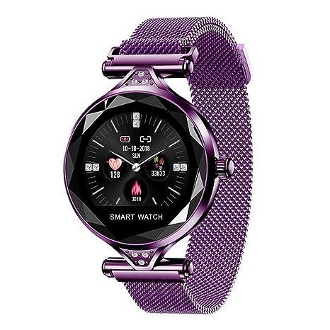 Amazon.com: haixclvyE Women Smart Bracelet Bluetooth ...