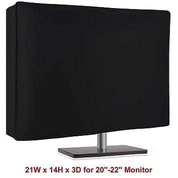 Amazon.com: Funda antipolvo para monitor de ordenador de 20 ...