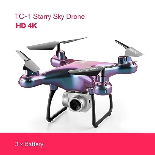 Noradtjcca - Dron de Cielo Estrellado HD 720P / 1080P / 4 K WiFi ...