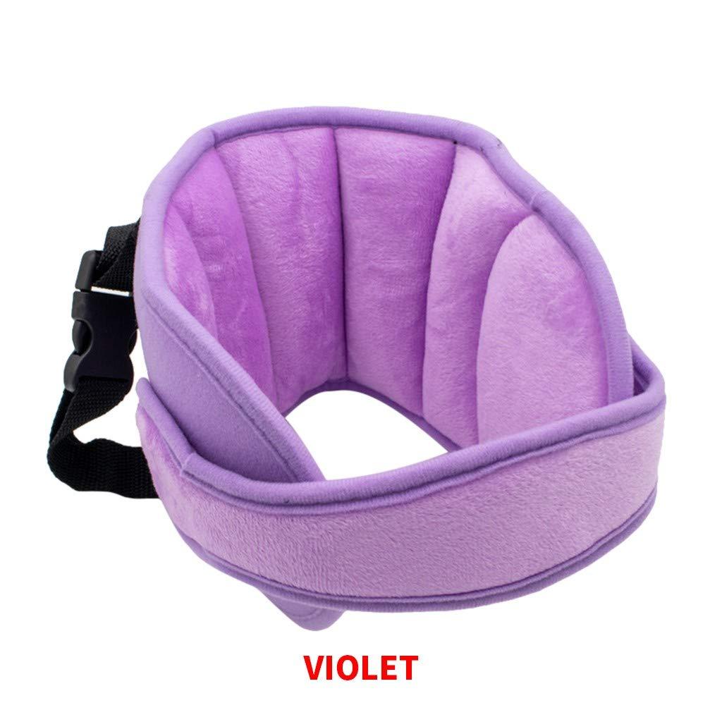 Kindersitz Kopfband Cypapa Autositz Kopfband Verstellbarer Nackenstützen Für Kinderautositze Kindersitz Befestigung Riemen Kopf Halter Für Komfortable Safe Sleep Baby Purple Baby