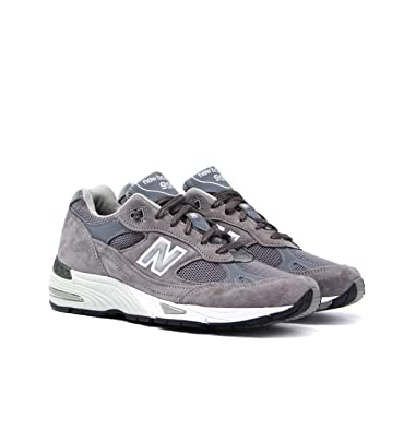check-out 2e326 cc416 New Balance 991 Made in England Charcoal Grey Trainers- UK ...