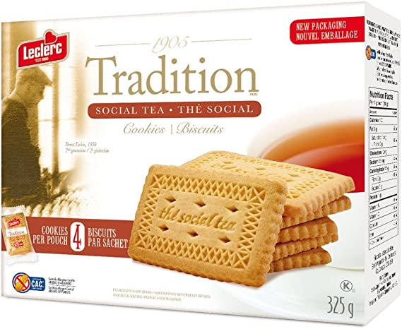 Tradition Social Tea Cookies 325g Pack Of 16 Boxes Amazon Ca