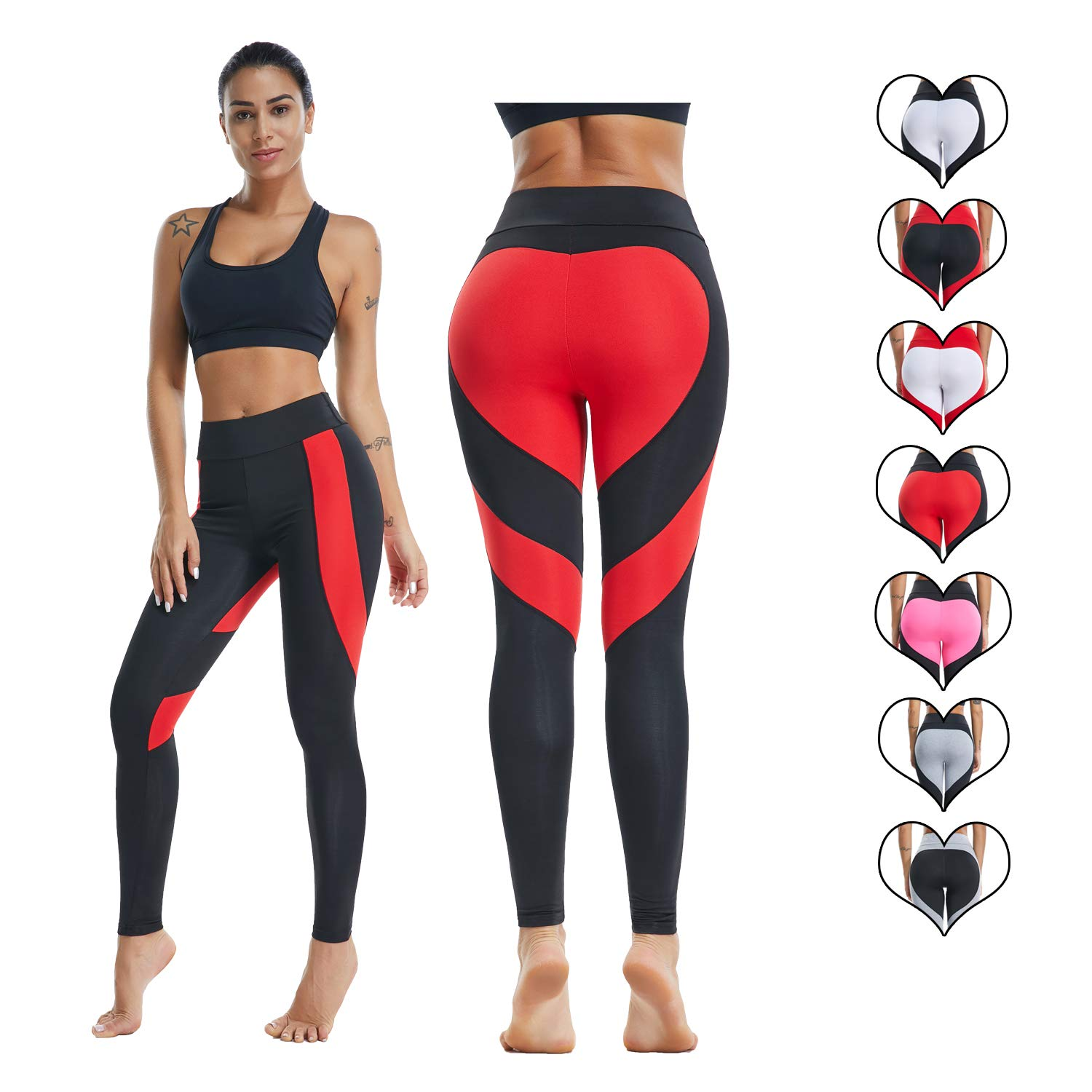 BYBH (FBA)|Red& PANTS レディース M B07HFSSWRS Red& Black Heart US US 4-6 = Tag Size M (FBA) US 4-6 = Tag Size M (FBA)|Red& Black Heart, イータイムス:f50fbe96 --- ero-shop-kupidon.ru