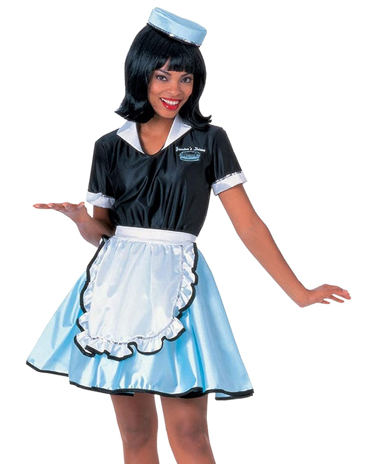 Amazon Car Hop Sock Costume Poodle Skirt 1950s Retro Vintage Womens Theatrical Clothing