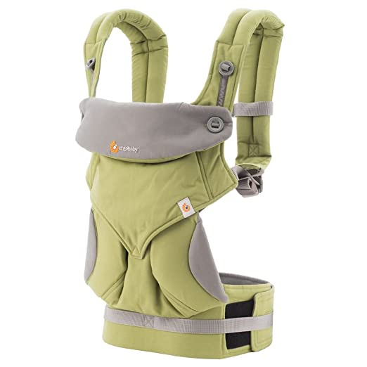 ERGObaby Four Position 360 Baby Carrier, Green