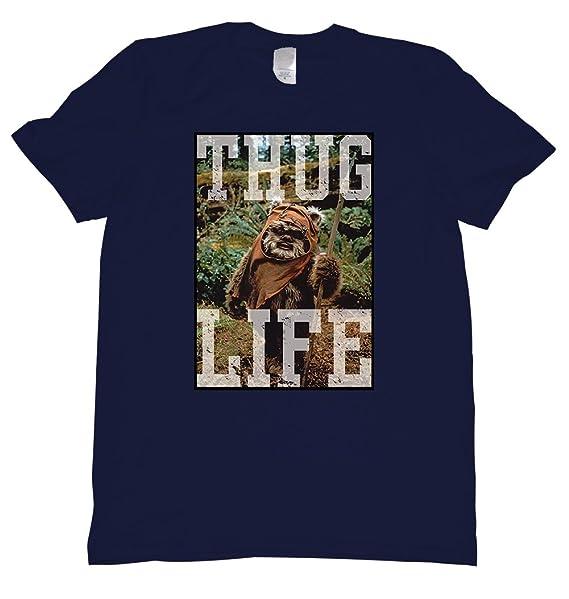 7a655cb0fed Amazon.com  Thug Life Tee Shirt  Clothing