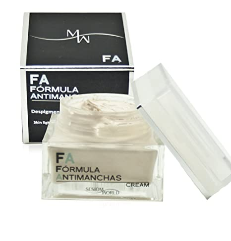 Crema facial FA Despigmentante Fórmula Antimanchas sesiomworld 50ml