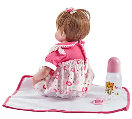 Amazon.com: Baby Boll, Muñeca de bebé reborn realista suave ...