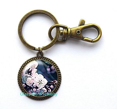Amazon.com: Holidays Sale,Flower Keychain,Cherry Blossom ...