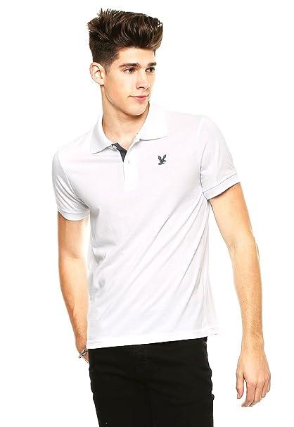 Garanty Playera tipo Polo Blanca Polo para Hombre Blanco Talla XL ... 52c8aae3062ac