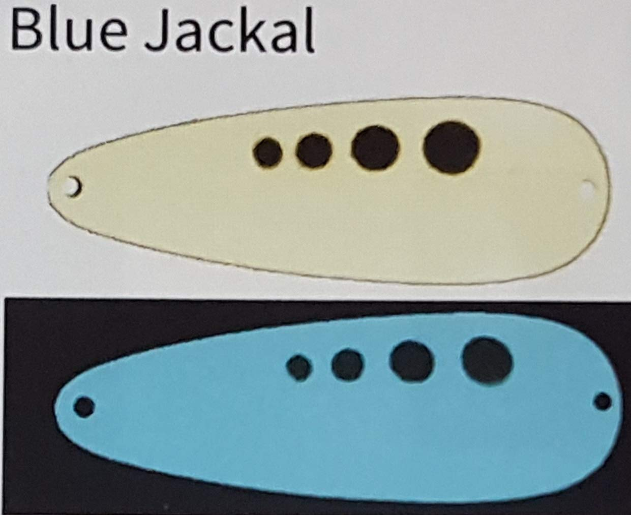 Moonshine Casting Spoons (Blue Jackal, 3/4 Ounce) by Moonshine Lures