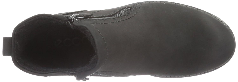 ecco jamestown bottines noir