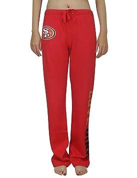 Rosa Victoria de SECRET SF 49ers para mujer Lounge/Otoño/Invierno Pantalones de pijama