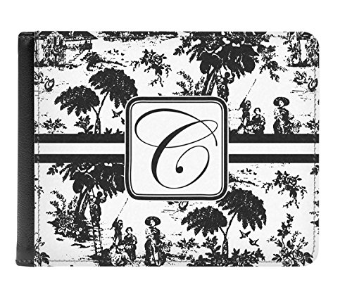 Bi Toile Personalized Leather Genuine Toile fold Leather Men's Wallet Genuine Men's nT0nwFBPq