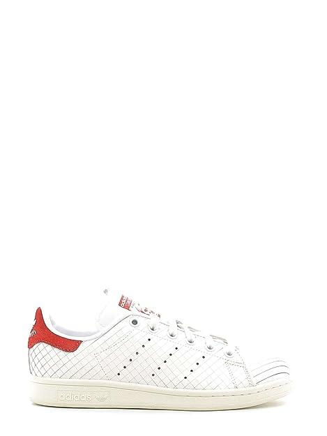 detailing cf7f7 de477 Calzado deportivo para mujer, color Blanco , marca ADIDAS ORIGINALS, modelo  Calzado Deportivo Para Mujer ADIDAS ORIGINALS STAN SMITH W Blanco   Amazon.es  ...