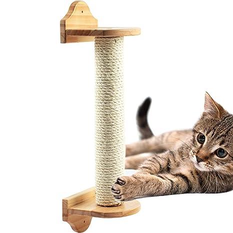TINTON LIFE - Poste rascador de Pared para Gatos, Poste de sisal ...