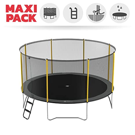 France Trampoline Maxi Pack Initio - elástica + Red + Escalera + ...