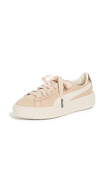 Puma Vikky Platform SL Femmes, Cuir Lisse, Sneaker High, 41 EU