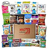 #2: 27 Healthy Snacks Care Package Under 160 Calories | Savory, Sweet & Nutritious Bars, Nuts, Potato Chips, Popcorn, Veggie Straws & Others | For School Kids, Adults, Work, Parties & Diet
