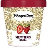 Haagen-Dazs, Strawberry Ice Cream, 14 oz (Frozen)