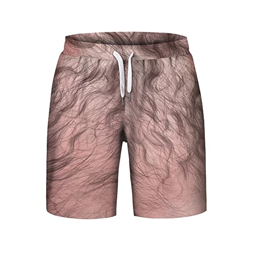 11893b49dbb baskuwish Men Shorts Mens Funny Swim Trunk Quick Dry Print Boardshorts  Summer Running Board Beach Short