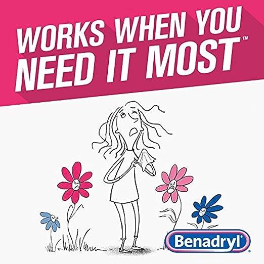 Amazon Com Benadryl Ultratabs Antihistamine Allergy Relief With