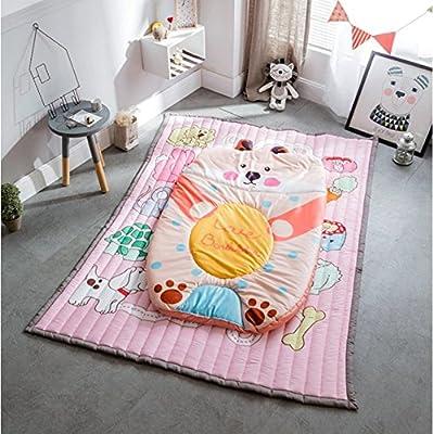 Alfombra plegable para niños / Algodón Colchón antideslizante / Alfombra para gatear bebé / Alfombra tatami / Alfombra para yoga / Sala de estar Alfombra para dormitorio / Lavable a máquina /
