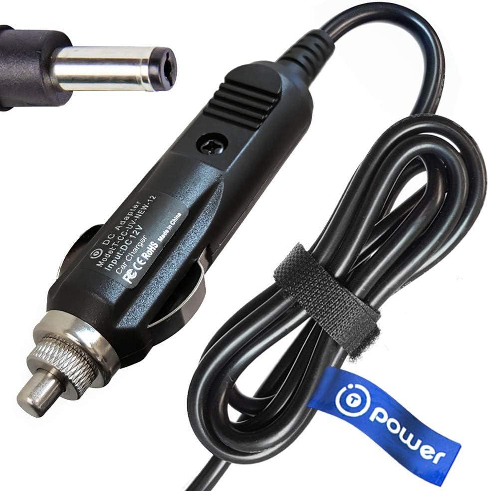 T-Power 12v Car Charger Compatible with Brother Pocketjet 3 6 7 Series PJ-622 PJ-623 PJ-662 PJ-663 Mobile Printer Pocketjet 3 PLUS PJ-523 PocketJet 7 PJ-722 PJ-723 PJ-762 Thermal Printer Power Supply