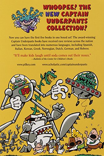 The New Captain Underpants Collection (Books 1-5) by The Blue Sky Press (Image #8)