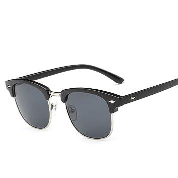HCIUUI Nueva personalidad gafas de sol de arroz 828 gafas de sol de moda gafas de