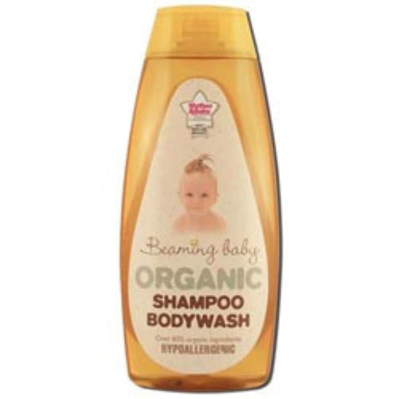 Beaming Baby Organic Baby Care Shampoo Bodywash 250ml 42116