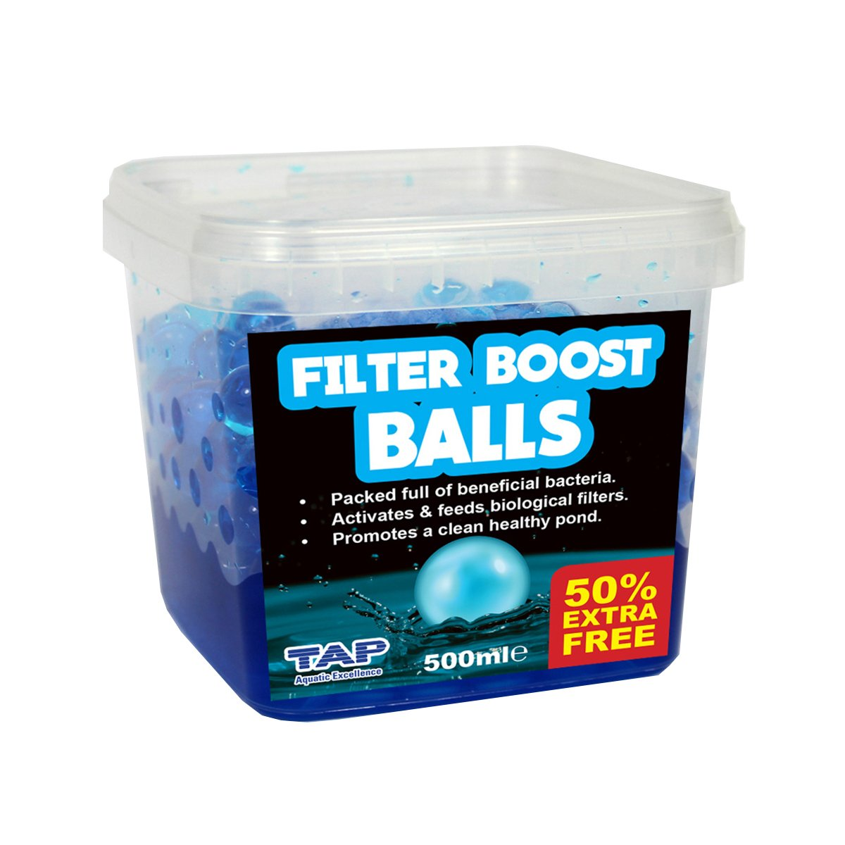 TAP Pond Filter Boost Balls 500ml + 50% Extra Free