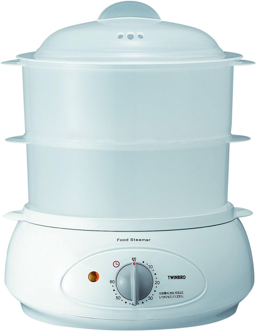 Amazon.com: TWINBIRD food steamer white SP-4137W: Kitchen & Dining