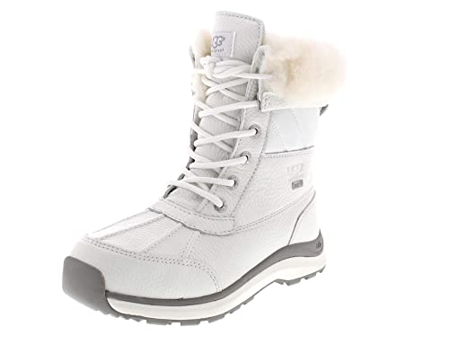 f919488603b UGG Boots Adirondack Boot Quilt (37 - White): Amazon.co.uk: Shoes & Bags