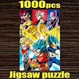 1000 piece jigsaw puzzle DRAGON BALL Super Saiyan vs universe triumphed over (50x75cm)