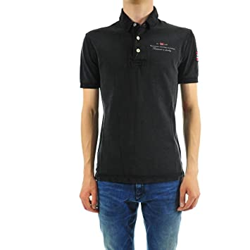Napapijri Polo Elbas Stretch Black hombre, Hombre, negro, Small ...