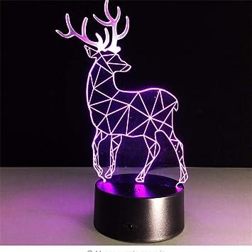 Amazon.com: Shuangklei - Lámpara de mesa con diseño de ...