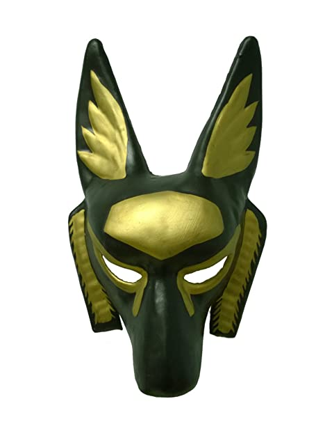 Bauer Pacific Imports Childs Black And Gold Egyptian Anubis Party Festival Tie Mask Costume Accessory