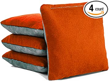 Tailgating Pros Regulation Cornhole Bags Set of 8 Corn Filled /& Handmade 25 Color Options
