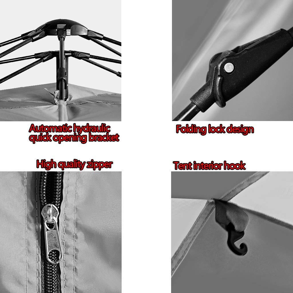 YaNanHome Zelt-Zelt-Verdickungsregenzelt des Zeltes Freien im Freien Zeltes Automatische hydraulische Geschwindigkeit des Zeltes 2-3 Zeltzelt des Zeltes Doppelte wahlweise freigestellt d41843