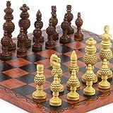 Monaco Deluxe Chessmen & Georgio Chess Board from Italy